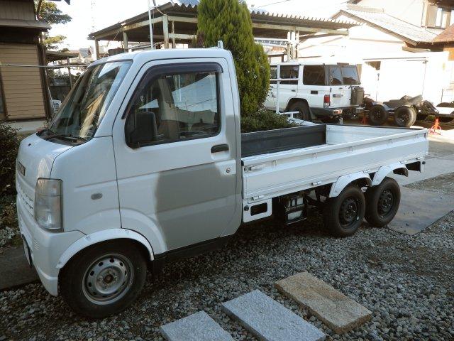 軽トラック改6輪車