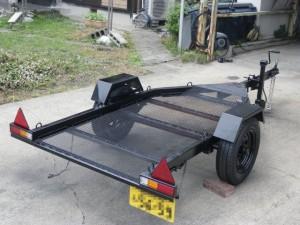 軽トラ用トレーラー